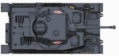 ガルパン‗Ⅳ号戦車‗上面