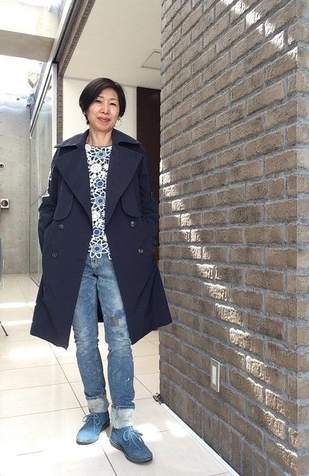 50代 ファッション トレンチコートの選び方|50代女性のお洒落のコツ  アパレルキャリア30年のあつこがシンプルで上品な着まわし出来る大人のコーディネートを伝授