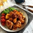 鶏肉とじゃがいものハニーマスタード照り焼き*ご飯が進む味*三人三様。の記事より