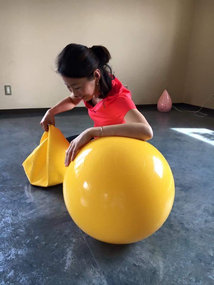 バランス ボール 大き さ 選び方