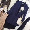 追記:JK完売/入学式、卒業式ママコーデにおすすめのネイビージャケットが再入荷!