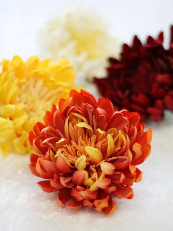 菊の髪飾り