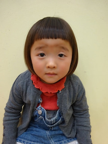 テーマ:ショートスタイル 女の子. ういちゃん、3歳♪