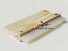 木製ハンドルスキージ ゴムブレード付き