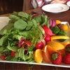 *食育講座に無農薬野菜プレゼント!*の画像