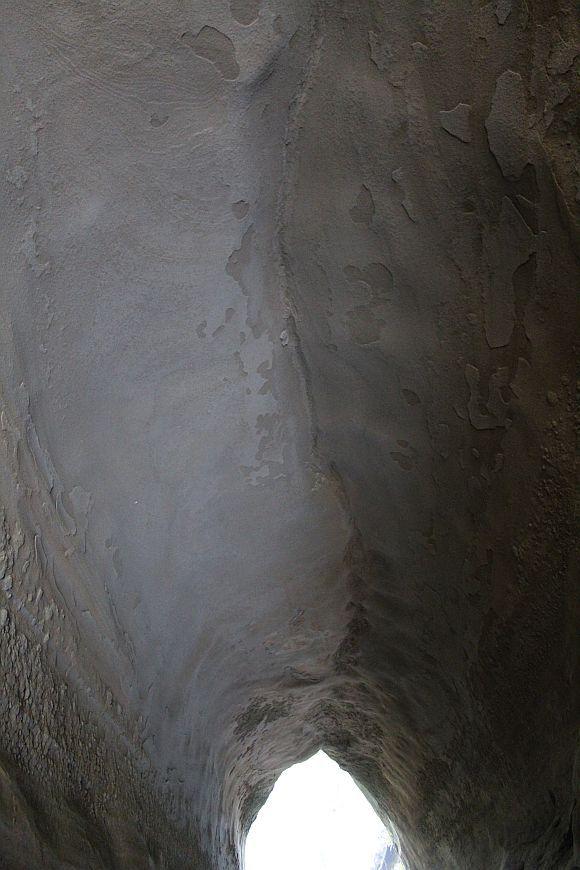 御腹川の水路隧道