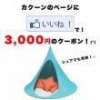 3,000円クーポン…