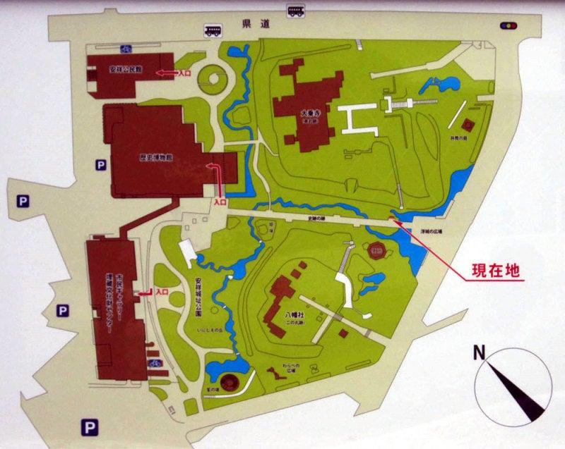 安祥城①案内図