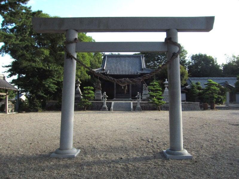 山崎城②山崎神明社