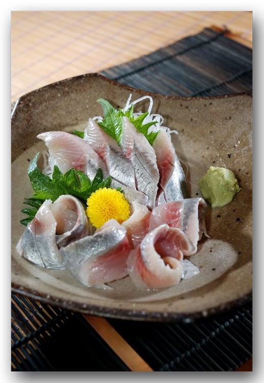 鰊料理 にしんの酢〆 ....... 鮮...