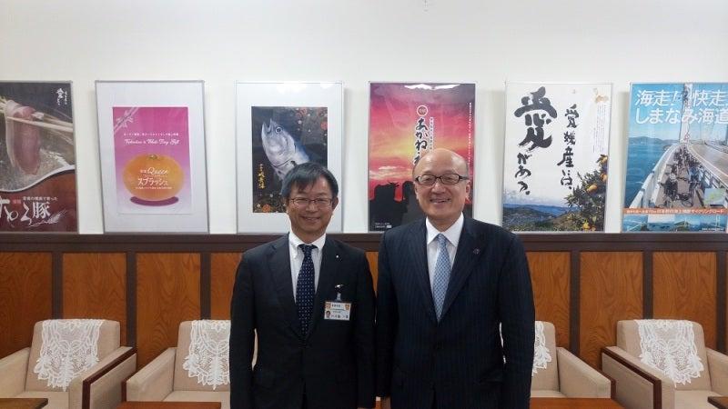 愛媛県八十島営業部長と