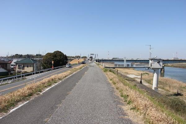 利根川サイクリングロード 栄橋危険箇所 どうしょう。|印西 ...