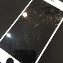iPhoneのガラス…