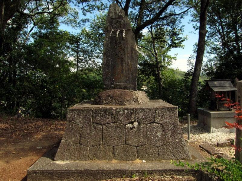 東広瀬城⑦城址碑