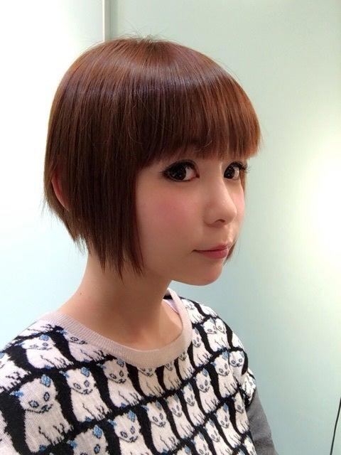 短髪の中川翔子