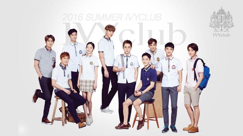 160322 EXO 『IVY CLUB』PC背景 壁紙 高画質画像 【公式HPサイト】 | K ...