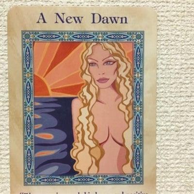 今、新しい世界へと踏み込みました。(カードメッセージ)の記事に添付されている画像