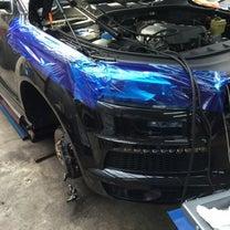 アウディ Q7 車検整備 ブレーキパッド ブレーキフルード 交換の記事に添付されている画像