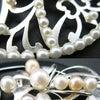 ■シルバーかんざしパール付き2種 訪問着、結婚式や華やかな機会にお勧めな準礼装用銀かんざし。の画像