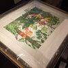 絵を掛け替えました&ソメイヨシノ開花状況の画像