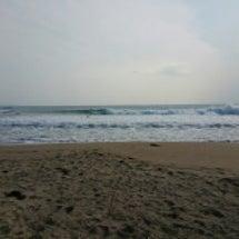 本日の海~