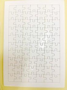 無地パズル用紙