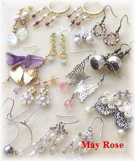 May Rose ピアス