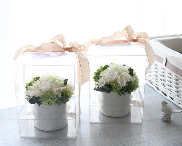 プリザーブドフラワー 贈呈花