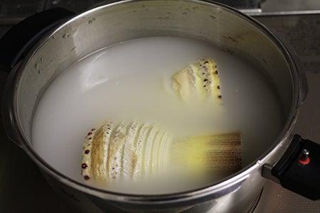 圧力 鍋 たけのこ 茹で 方