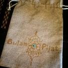 メヘンディ柄オリジナル 麻バック 巾着 水着入れバンドゥビキニ ノベルティ 柏 ぶらんぴじゃっとの記事より