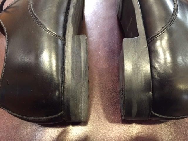 履き心地もそうですが、かかとを直すだけで見た目の印象も良くなります。