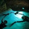 青の洞窟ボートシュノーケル&パラセーリングなら専門店のテイクダイブ!!青の洞窟に行ける確率UP♪の画像