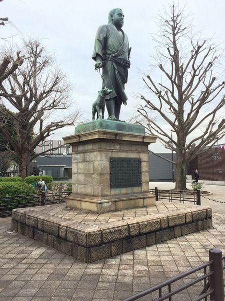 上野西郷さん