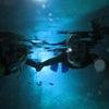 青の洞窟ダイビング、青の洞窟シュノーケル♪GW・夏休み旅行の予約も沖縄満喫テイクダイブでOK!!の画像
