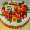 オーダーメイドの、薔薇のケーキ IN 大阪ケーキ屋の画像