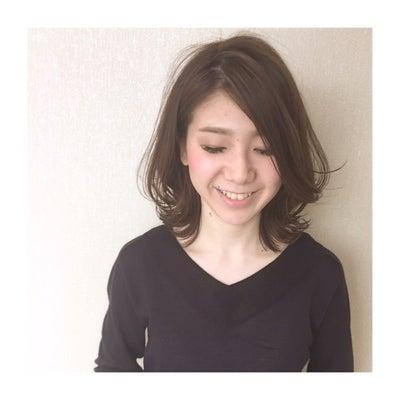 切りっぱなしボブ♡ 奈良市富雄美容室の記事に添付されている画像