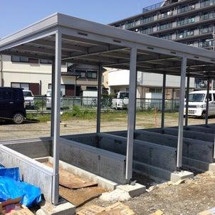 バイクガレージ大久保駅前2 進捗状況の画像