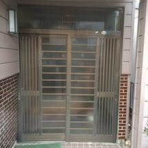 玄関引き戸の取替
