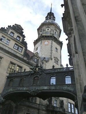 ドレスデン城付近