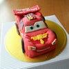 オーダーメイドのBDケーキ カーズの画像