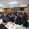 熊本地震対策本部の会議に出席の画像