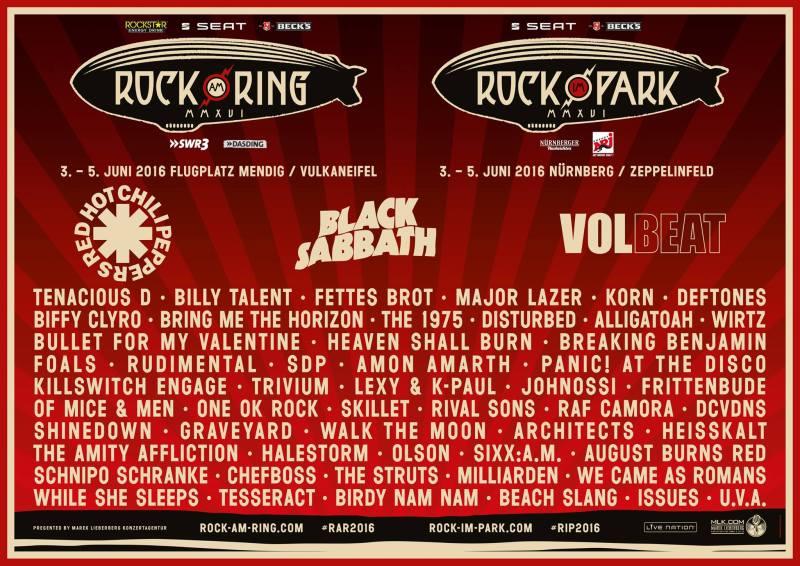 Rock am Ringに行くことにした!...