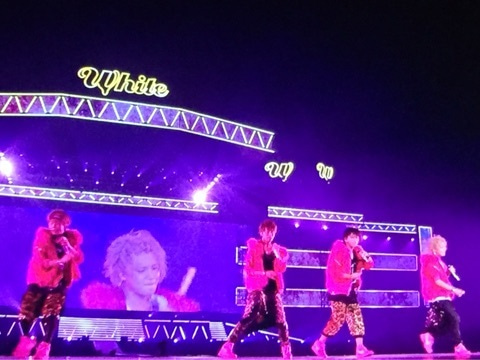 weather news みたいな人 news live tour 2015 white 手越祐也にポー