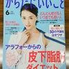 月刊『からだにいいこと』6月号に登場しています☆の画像