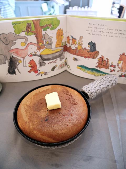 ぐりとぐらのホットケーキ@RusaRuka(ルサルカ)東京自由が丘店