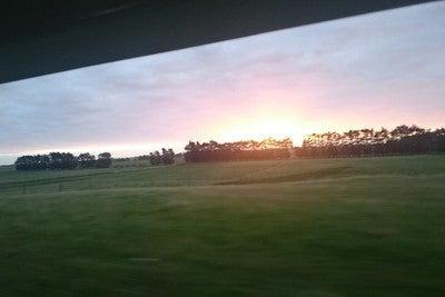 Northern Explorer 夕陽