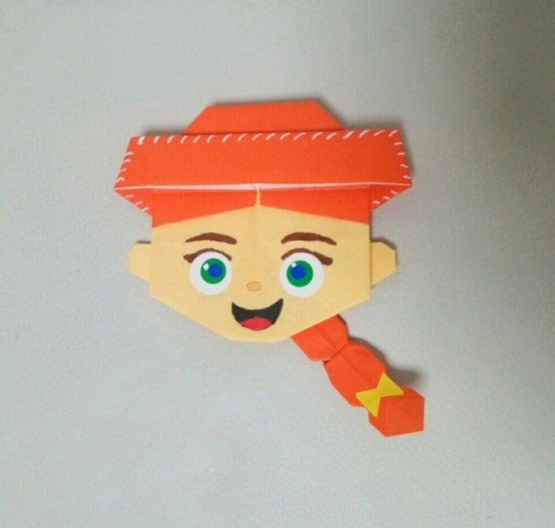 ディズニー折り紙\u0026イラストBOOK☆トイ・ストーリー☆ジェシー