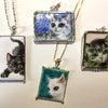 猫の描画七宝 − ベース作りが大変なの (⌒-⌒; )の画像