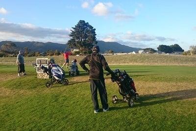 Boulcott's Farm ゴルフ場 同伴プレイヤー