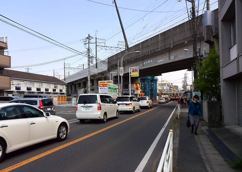 北初富駅へ 新京成線沿線をてく...